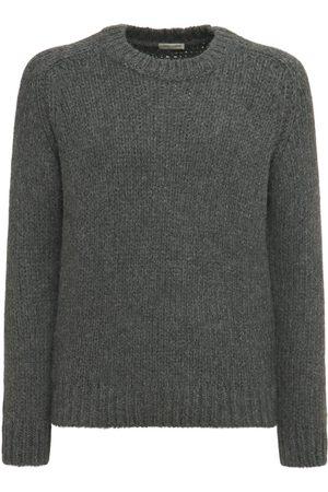 SAINT LAURENT Alpaca Blend Knit Sweater