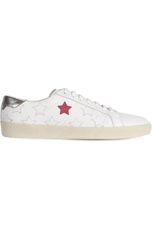 Saint Laurent Mænd Sneakers - Stars Leather Low Top Sneakers