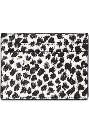Saint Laurent Mænd Punge - Leopard Print Leather Card Holder