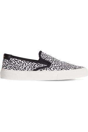 Saint Laurent Mænd Casual sko - Venice Cotton Canvas Slip-on Sneakers