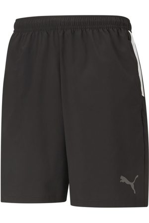 PUMA Mænd Shorts - TeamLIGA Sideline Shorts Black- White
