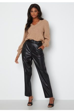 ONLY Lucy Faux Leather Pant Black