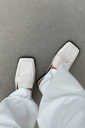 NA-KD Shoes Slip-In Loafers Med Firkantet Tå