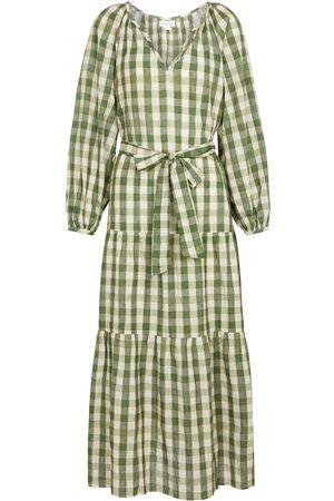 Velvet Trish cotton long-sleeved dress
