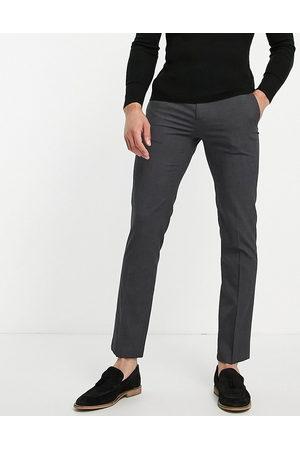 River Island Smalle, elegante bukser i mørkegrå-Marineblå