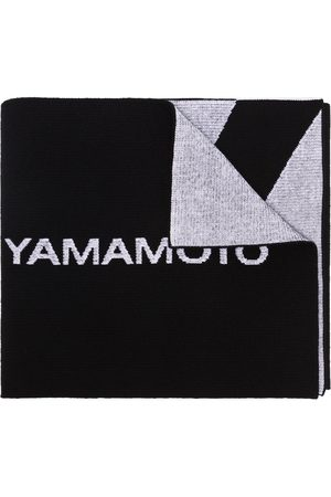 Y-3 Mænd Tørklæder - Y3 LOGO SCARF BLACK
