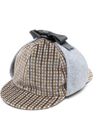 Anglozine Mænd Hatte - Don deerstalker hat med ternede paneler