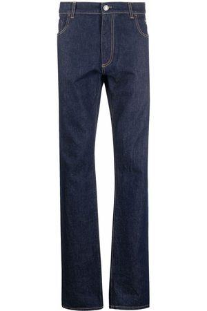Billionaire Mænd Straight - Iconic Crest jeans med lige ben og prægning