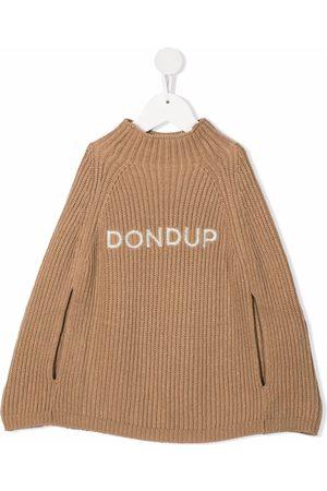 Dondup Kids Piger Strik - Ribbet trøje med broderet logo