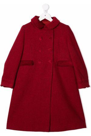 SIOLA Piger Frakker - Dobbeltradet frakke med to lommer