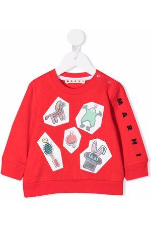 Marni Kids Sweatshirt med grafisk tryk