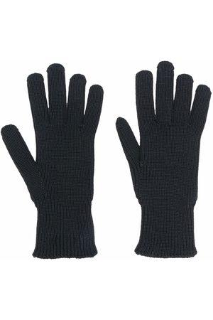 Moncler Strikkede handsker med logomærke