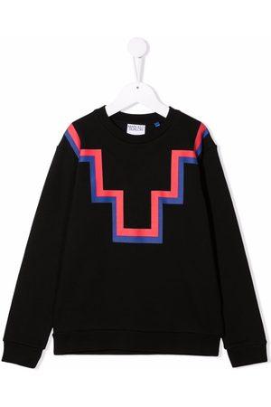 MARCELO BURLON Sweatshirt med abstrakt tryk