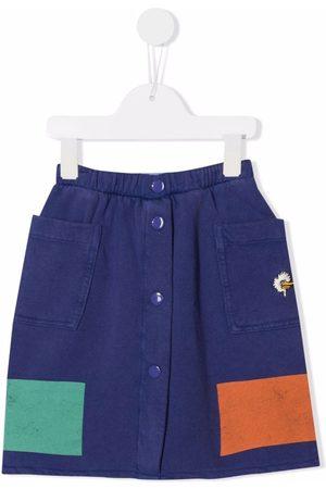 Bobo Choses Nederdel i økologisk bomuld med colourblocking