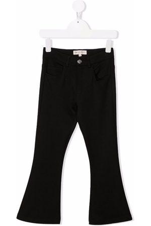 Emilio Pucci Junior Jeans med mellemhøj talje og svaj