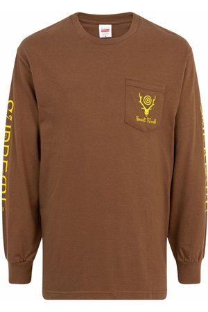 Supreme Langærmede - X South2 West8 langærmet T-shirt