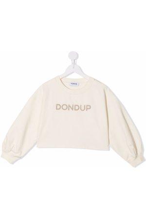 Dondup Kids Piger Sweatshirts - Trøje med logo-broderi