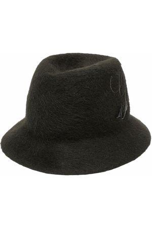 Junya Watanabe MAN Fedora-hat i filt med præget logo