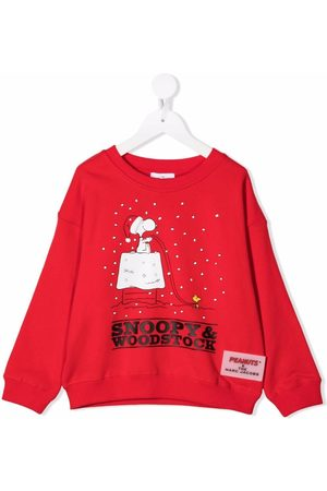 The Marc Jacobs Kids Sweatshirt med Snoopy-tryk