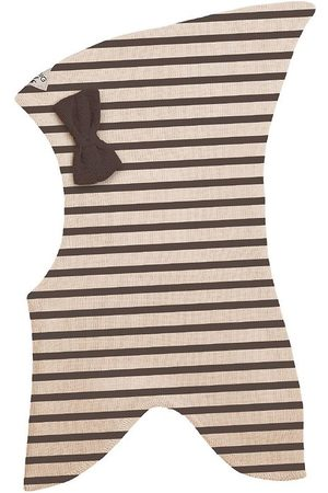 Racing Kids Huer - Elefanthue - Uld/Bomuld - 2-lags - Chocolate Brown/E