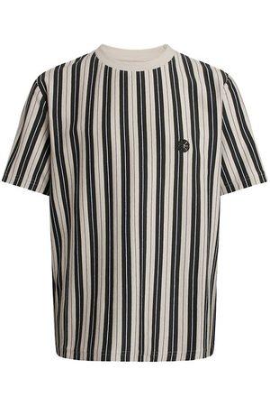 Grunt T-shirt - Holger Stripe - Sand