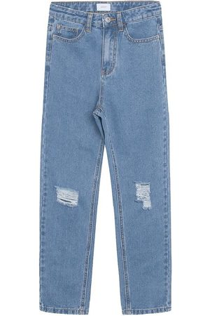 Grunt Jeans - Jeans - Mom Jeans Ripped - Authentic Blue