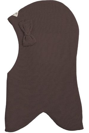 Racing Kids Elefanthue - Uld/Bomuld - 2-lags - Chocolate Brown m