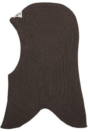 Racing Kids Huer - Elefanthue - Uld/Bomuld - 2-lags - Chocolate Brown