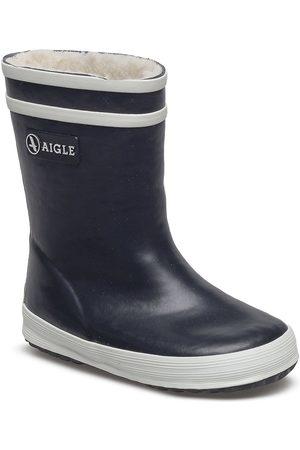 Aigle Ai Baby-Flac Fur Marine Gummistøvler