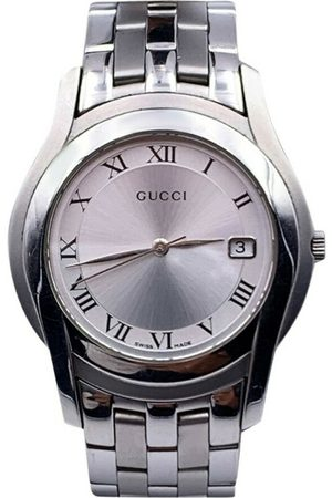 Gucci Vintage Mænd Ure - Pre-owned Vintage Stainless Steel 5500 M Wrist Watch