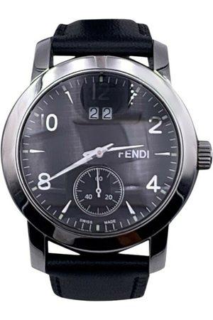 Fendi Vintage Pre-owned Stainless Steel 2100 G Quartz Wrist Watch Dial