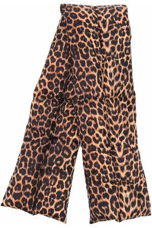 Saint Laurent Mænd Tørklæder - Leopard-print scarf