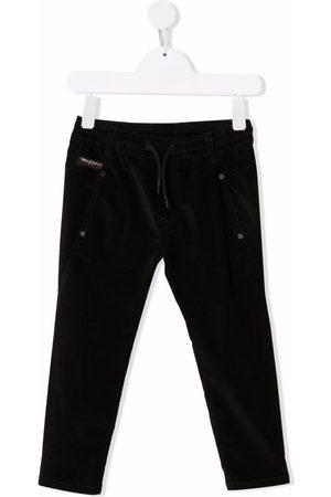 Diesel Kids Jeans med snoretræk og logomærke