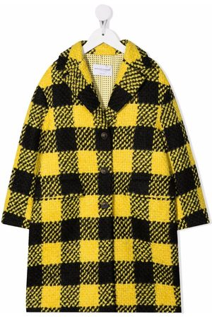 Ermanno Scervino Junior Ternet frakke i uldblanding