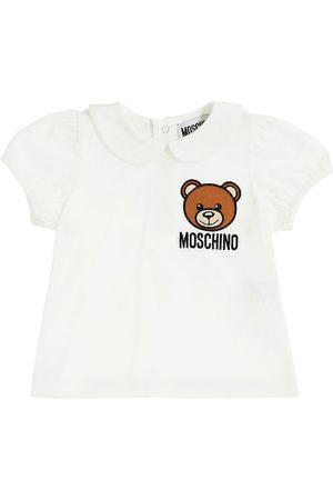 Moschino Kortærmede - T-Shirt - Cloud m. Logo