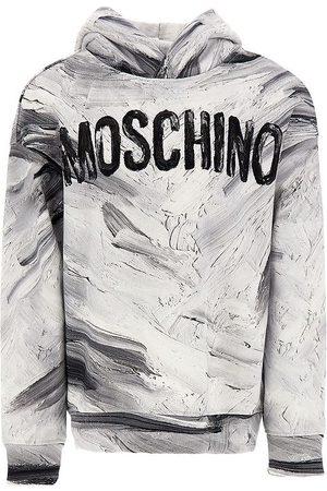 Moschino Hættetrøje - Optical White