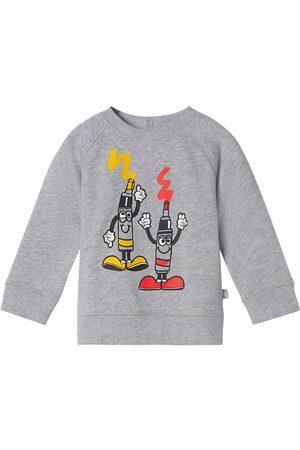 Stella McCartney Sweatshirts - Sweatshirt - Fleece - Painting Tubes - Gre