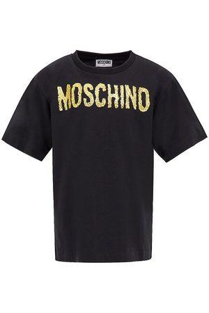 Moschino Kortærmede - Maxi T-Shirt - Black/Gold