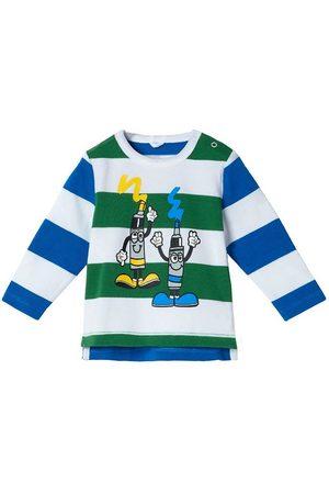 Stella McCartney Kids Bluse - Striped - Tube Paint