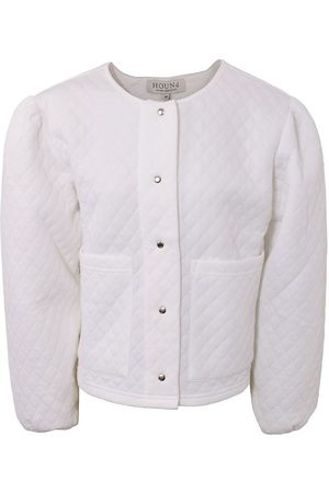 Hound Cardigans - Cardigan - Ouilted - Off White