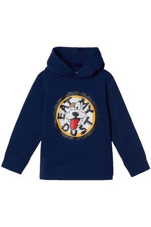Stella McCartney Sweatshirts - Hættetrøje - Fleece - Oversized - Dark Nav