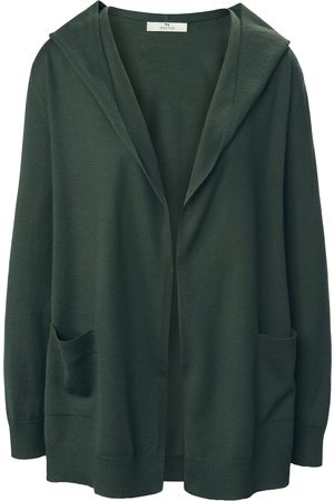 Peter Hahn Cardigan i 100% ren ny uld Fra PURE EDITION grøn