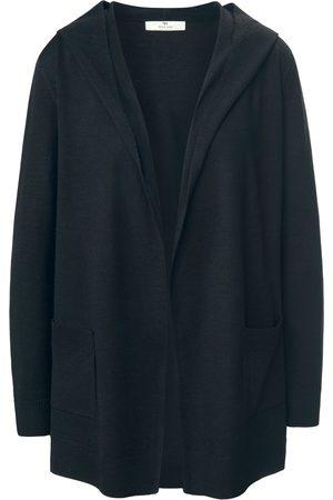 Peter Hahn Kvinder Cardigans - Cardigan i 100% ren ny uld Fra PURE EDITION
