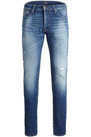 """JACK & JONES Mænd Slim - Glenn Icon 358 Slim Fit Jeans Mænd Blue"""",""""Brown"""