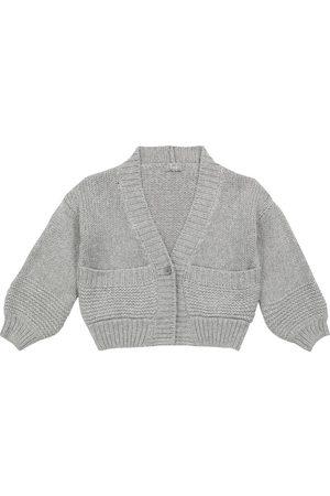 Il gufo Piger Cardigans - Cropped wool-blend cardigan