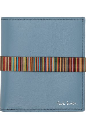Paul Smith Blue Band Bifold Wallet