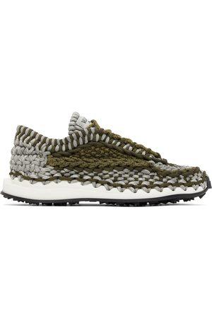 VALENTINO GARAVANI Mænd Sneakers - Grey & Khaki Crochet Sneakers