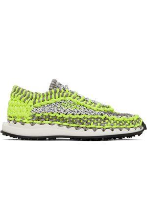 VALENTINO GARAVANI Mænd Sneakers - Green & Grey Crochet Sneakers