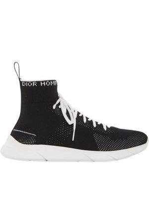 Dior B21 high-top fabric sneaker