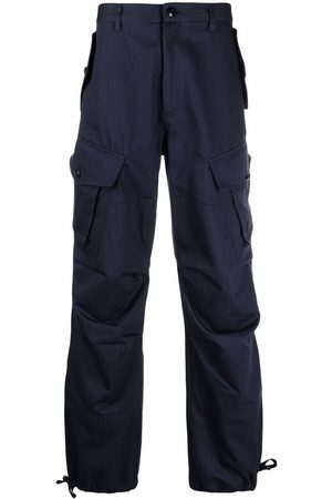 Kenzo Mænd Bukser - Logo-embroidered cargo trousers